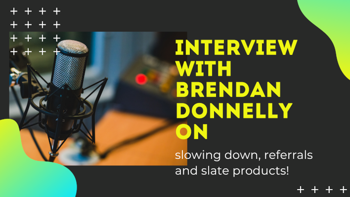 Interview with Brendan Donnelly