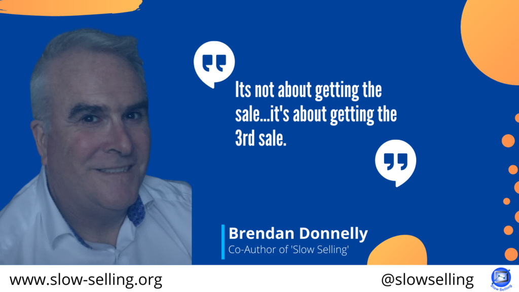 Season 2 Episode 18 - It's not about getting the sale … it's about getting the 3rd sale.